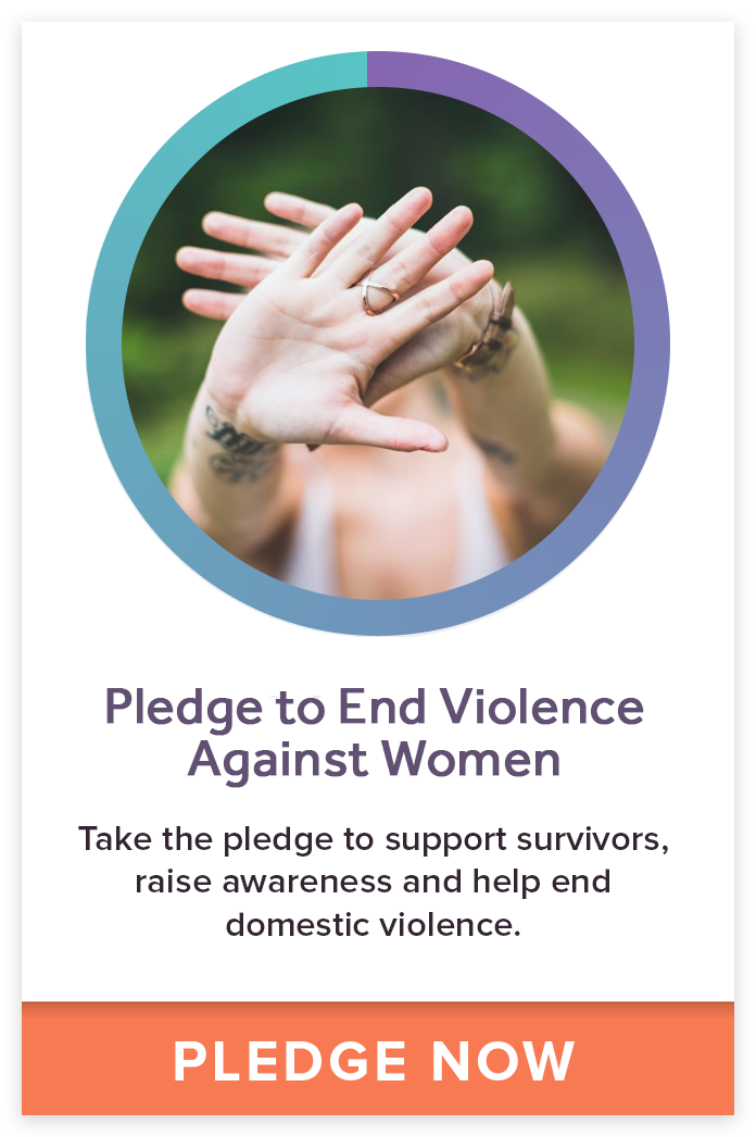 Take the Pledge to End Violence Against Women